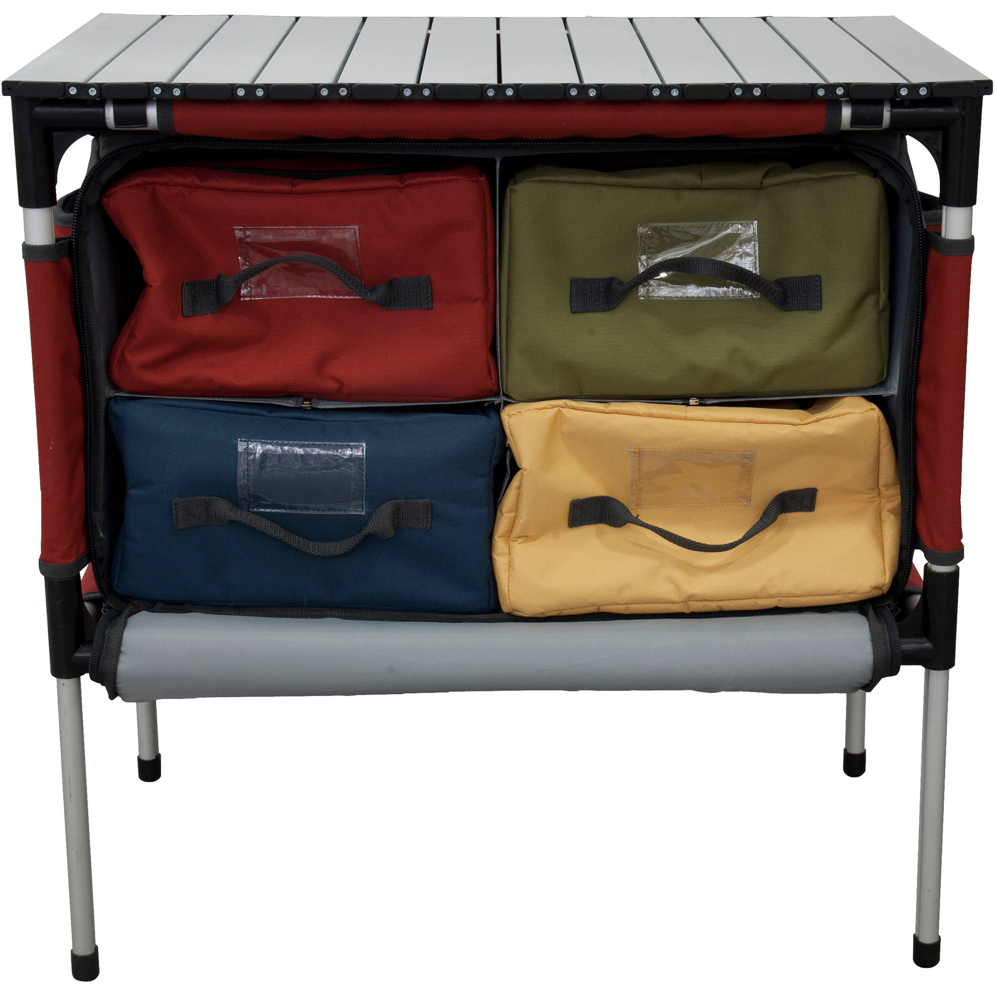 Camp Chef MSTAB Sherpa Outdoor Camping Table & Organizer