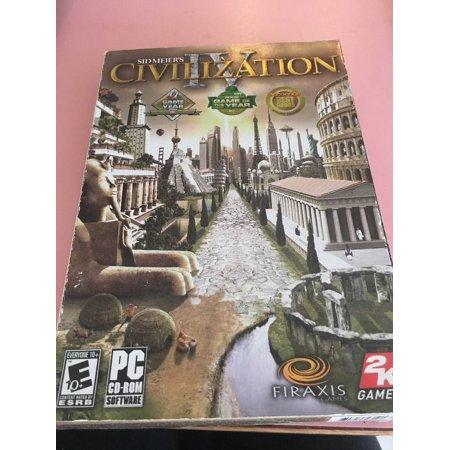 Sid Meier's / Civilization IV / (PC, 2005) Computer