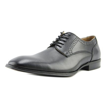 Collection By Michael Strahan Gene Men  Round Toe Leather Black Oxford