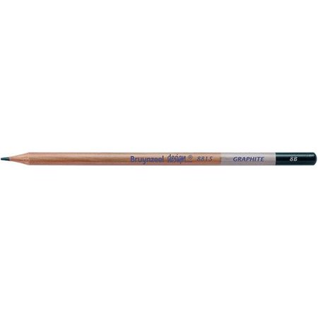 Royal Talens 8815K-8B Bruynzeel Design Graphite Pencil - Lead