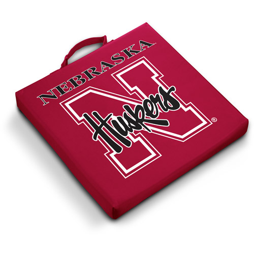 Logo Chair NCAA Nebraska Stadium Cushion