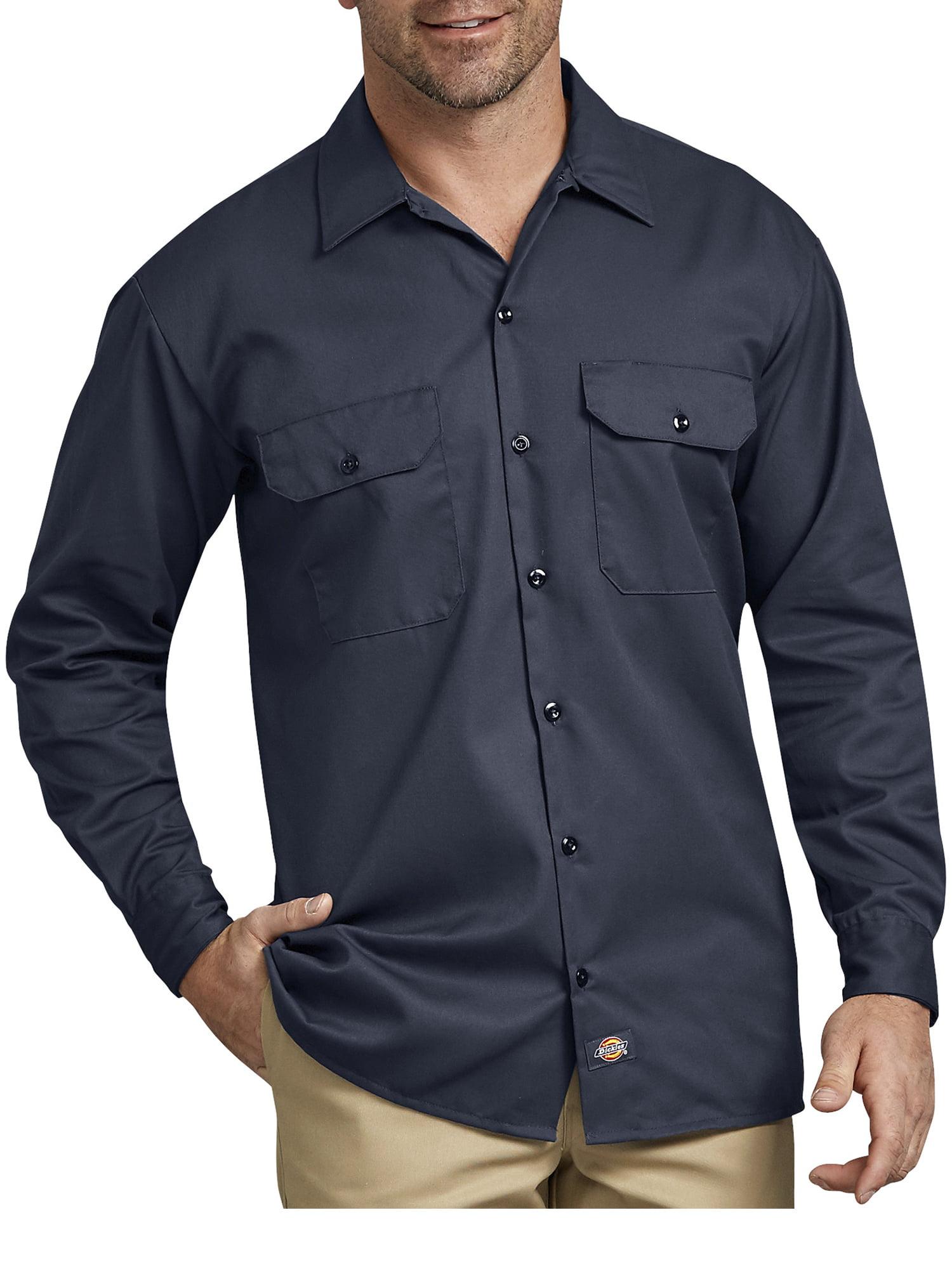 Dickies Boys Twill Long Sleeve Shirt