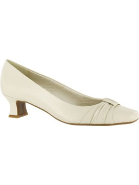 Easy Street Womens Waive Faux Leather Slip On Pumps