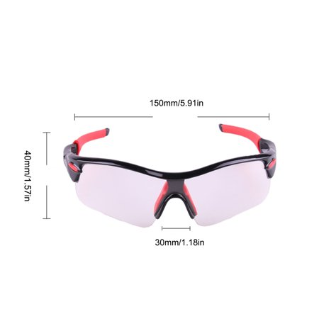 Outdoor Sports Color-changing Lenses Sunglasses Windproof UV Protection Hiking Driving Cycling Sun Glasses - image 7 of 7