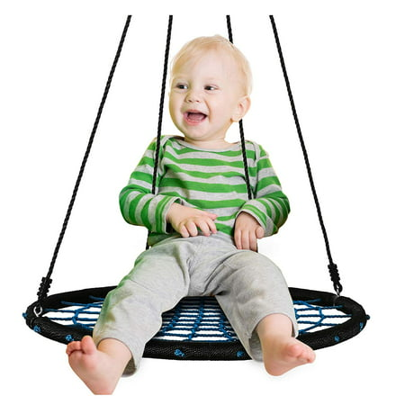 f694a41d3 40  Spider Web Tree Swing- Large Round Outdoor Swing for Kids Extra ...