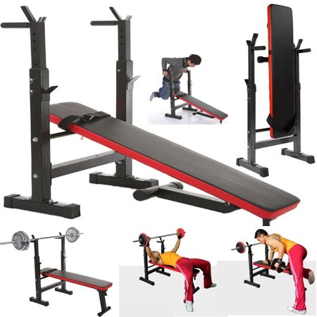 walfront adjustable home fitness weight/sit up bench