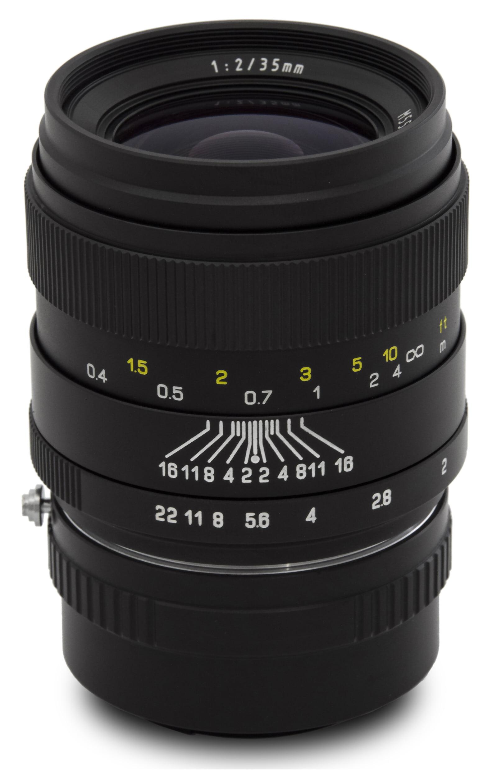 Oshiro 35mm f 2 LD UNC AL Wide Angle Full Frame Prime Lens for Fuji X-Pro2, X-Pro1, X-T10, X-E2S, X-T1, X-E2, X-E1,... by Oshiro