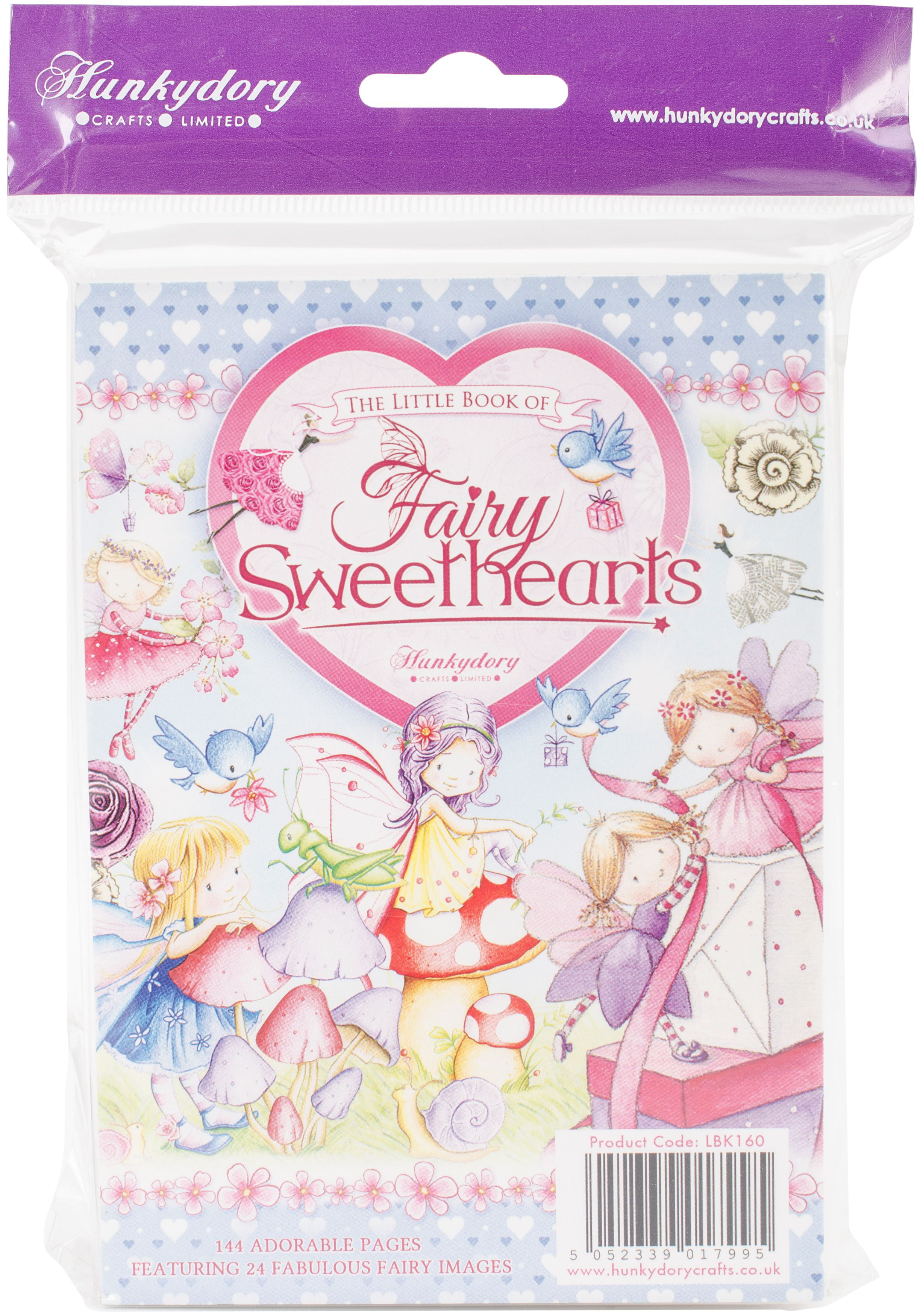 24 Hunkydory Little Book Of Fairy Sweethearts A6 Toppers