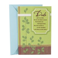 Hallmark Birthday Greeting Card to Father (Loved and Appreciated)