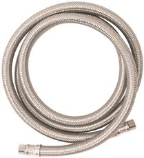 Stainless Stl (WATTS ICE MAKER CONNECTOR SUPPLY LINE, 1/4