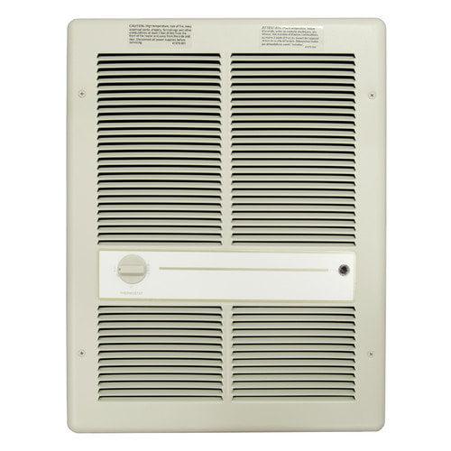 TPI 1,500 Watt Wall Insert Electric Fan Heater