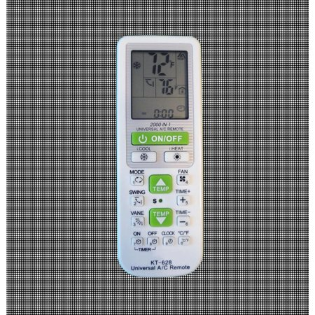 Universal Remote Control For AC With 2000 Codes. Easy To