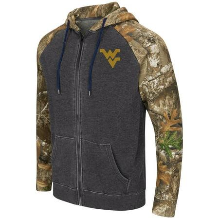 - West Virginia Mountaineers Men's Camo Full Zip Realtree Hoodie
