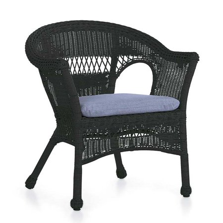Easy Care Wicker Chair / Patio Chair (Patio Chairs Bright)