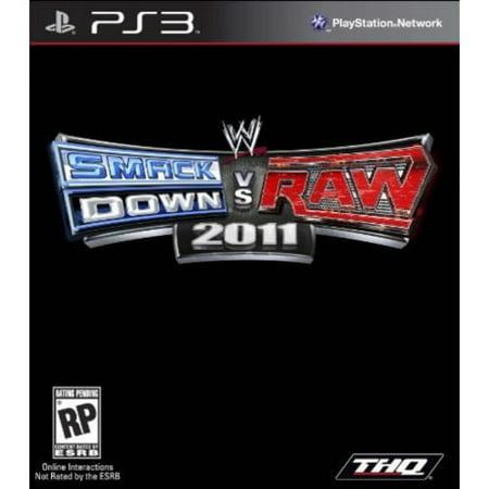 WWE Smackdown vs Raw 2011 (PS3) - Walmart.com