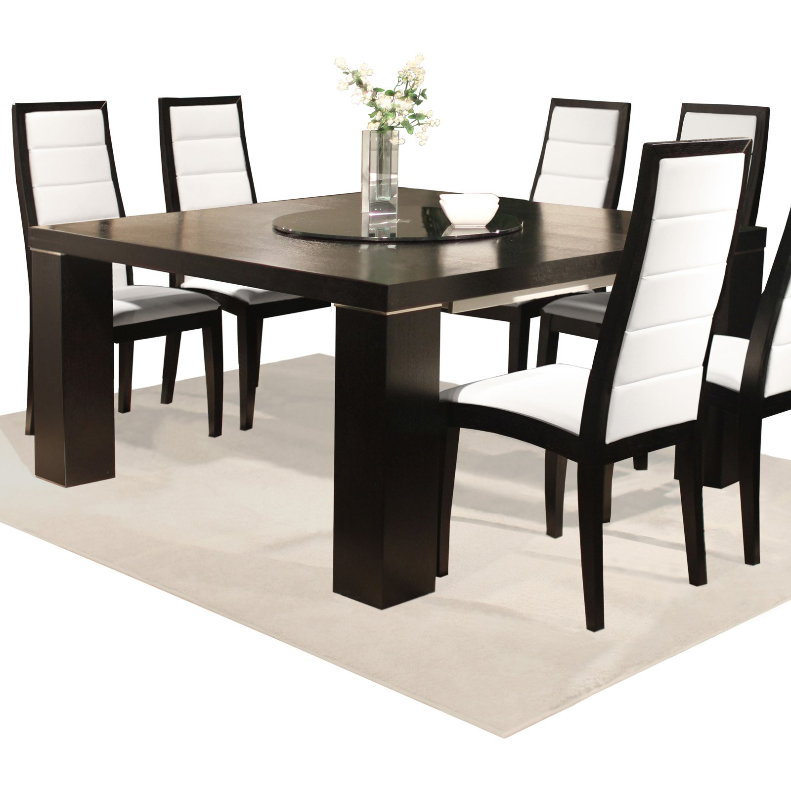 Jordan Square Extension Dining Table - Wenge