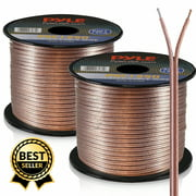 PYLE PSC1250 - 12 Gauge 50 ft. Spool of High Quality Speaker Zip Wire
