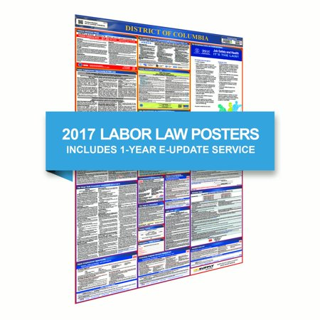 District of Columbia All-In-One Poster + 1 Year E-Update Service