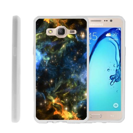 Samsung Galaxy On5 G550, Flexible Case [FLEX FORCE] Slim Durable  Sleek Bumper with Unique Designs - Out in (Samsung Galaxy S4 Storage Space Running Out)