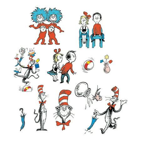 Dr. Seuss Character Bulletin Board Cutouts By Fun Express