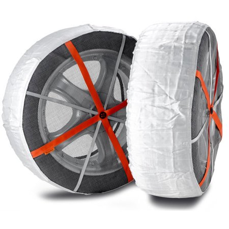 Truck/Forklift AutoSock Snow Socks Traction Wheel Covers for Snow and Ice.AL71