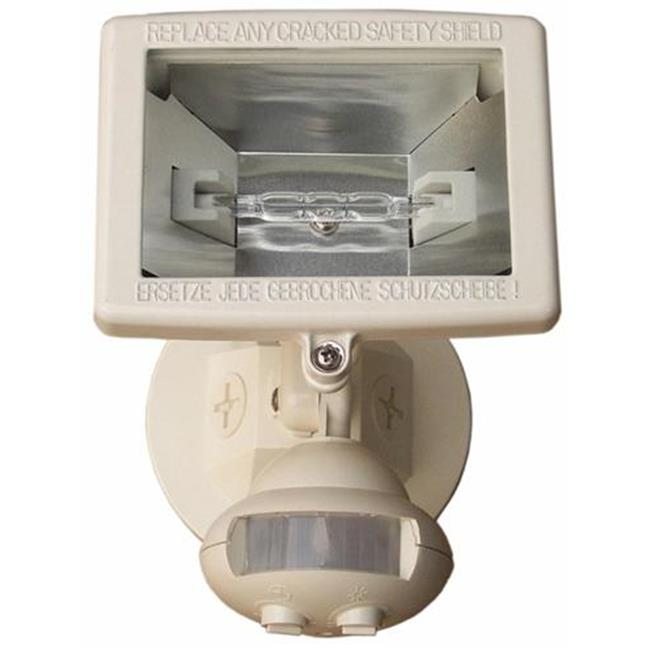Morris Products 73221 Motion Activated Halogen Light White