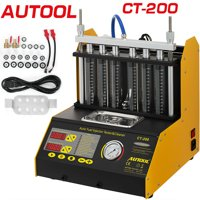 VEVOR Autool CT200 Ultrasonic Fuel Injector Cleaner Tester Machine