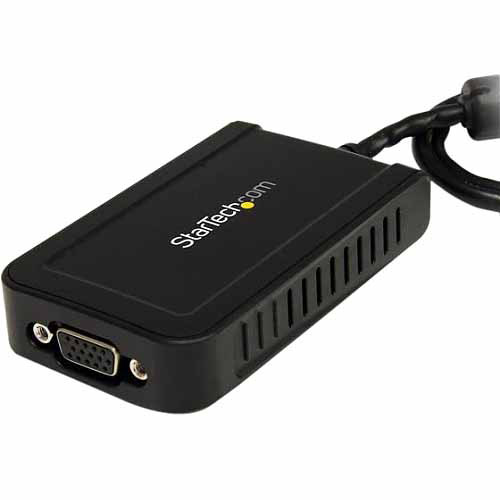 StarTech USB to VGA External Video Card Multi Monitor Adapter