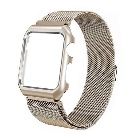 timeless design 47431 42a07 For Apple Watch Band with Case 44mm, Stainless Steel Mesh Milanese Loop  with Adjustable Magnetic Closure Replacement Wristband iWatch Band for  Apple ...