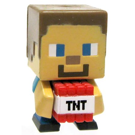 Minecraft Stone Series 2 TNT Steve Mini Figure