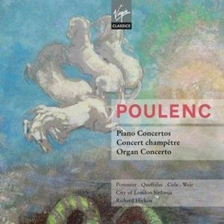 Watjen Concert Organ - POULENC: PIANO CONCERTOS; CONCERT CHAMPˆTRE; ORGAN CONCERTO