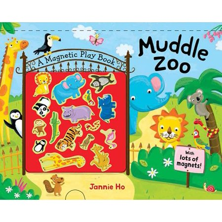 Muddle Zoo : A Magnetic Play Book