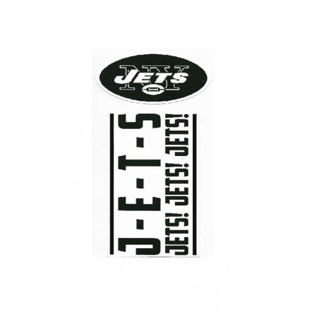 New York Jets Double Up Die Cut Vinyl Stickers - image 1 of 1