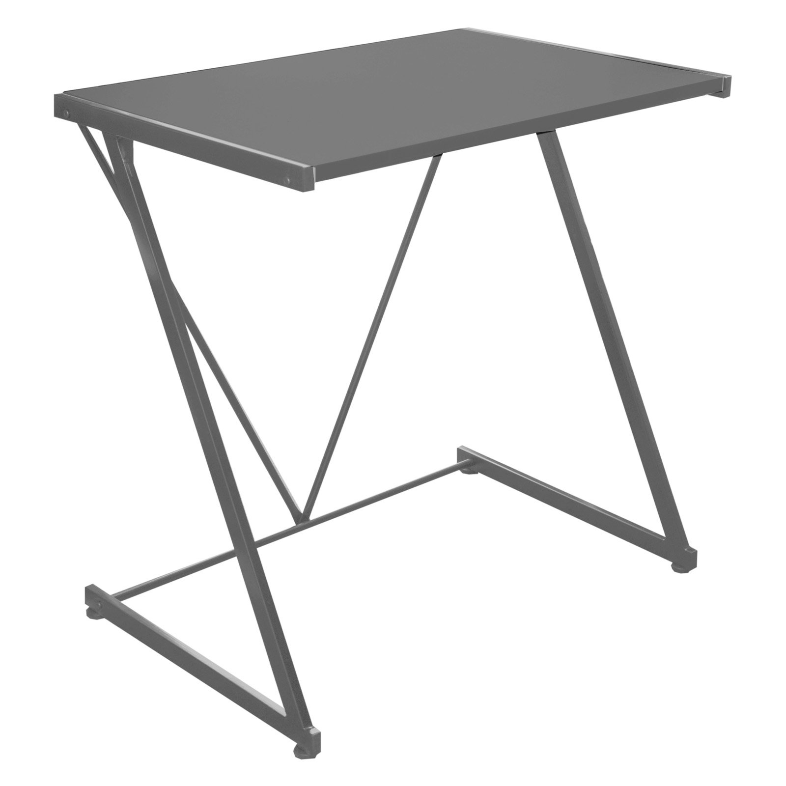 Urban Shop Z-Shaped Student Desk, Black - Walmart.com - Walmart.com