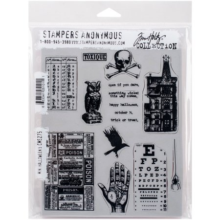 Brand New  Tim Holtz Cling Stamps 7