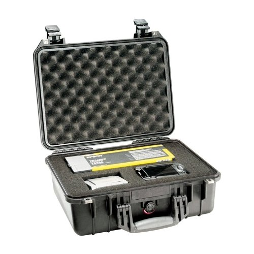 Pelican Pelican 1450 Copolymr Ruggd Case W/ Foam Black (1450000110)