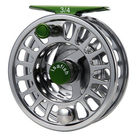 Fly Reel Fishing Reel with Stainless Steel Ball Bearings Aluminum Alloy CNC Machined Body 3/4, 5/6, 7/8 for Saltwater Freshwater - image 1 de 8