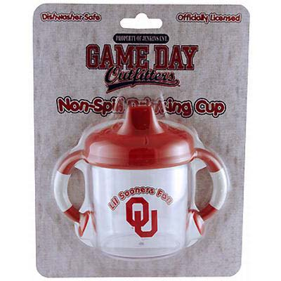 Lil Oklahoma Sooners Fan No Spill Sippy Cup