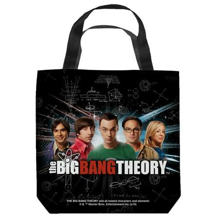 The Big Bang Theory Sitcom Series Tv Show Cbs Cast Tote Bag