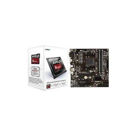 AMD A4-6300 3 7GHz Dual-Core APU/Gigabyte GA-F2A78M-D3H FM2+ mATX MB