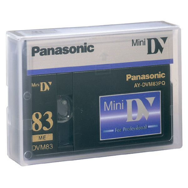 AY-DVM83PQ/5  PANASONIC 83 Minute PQ Series Professional MINIDV Digital *5 Pack