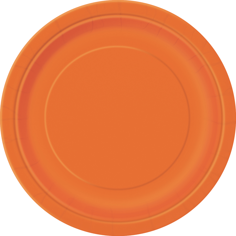 Ravishing Red Paper Dinner Plates, 9in, 20ct