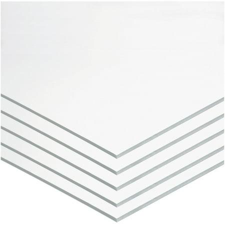 Pacon, PAC5557, Foam Board, 5 / Carton, White