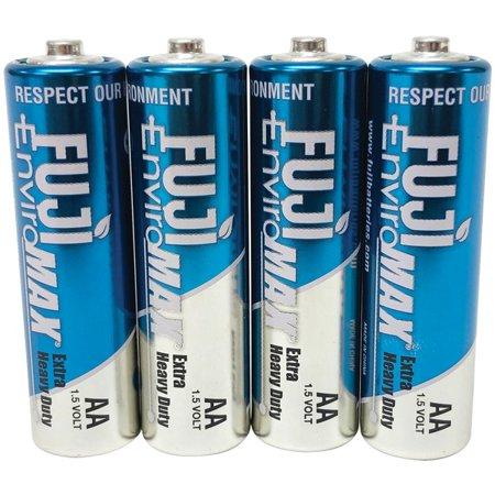 Fuji Batteries 3300BP4 EnviroMax AA Extra Heavy-Duty Batteries (4 pk) - image 1 de 1