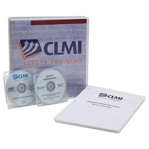 CLMI SAFETY TRAINING EONDVD Training DVD, English, 42 min.