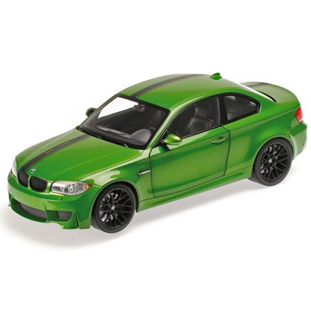 2011 BMW 1 M Coupe Java Green Limited Edition to 504pcs 1/18 Diecast Model Car by