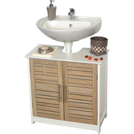 Non Pedestal Under Sink Storage Vanity Cabinet Free Standing Cabinet
