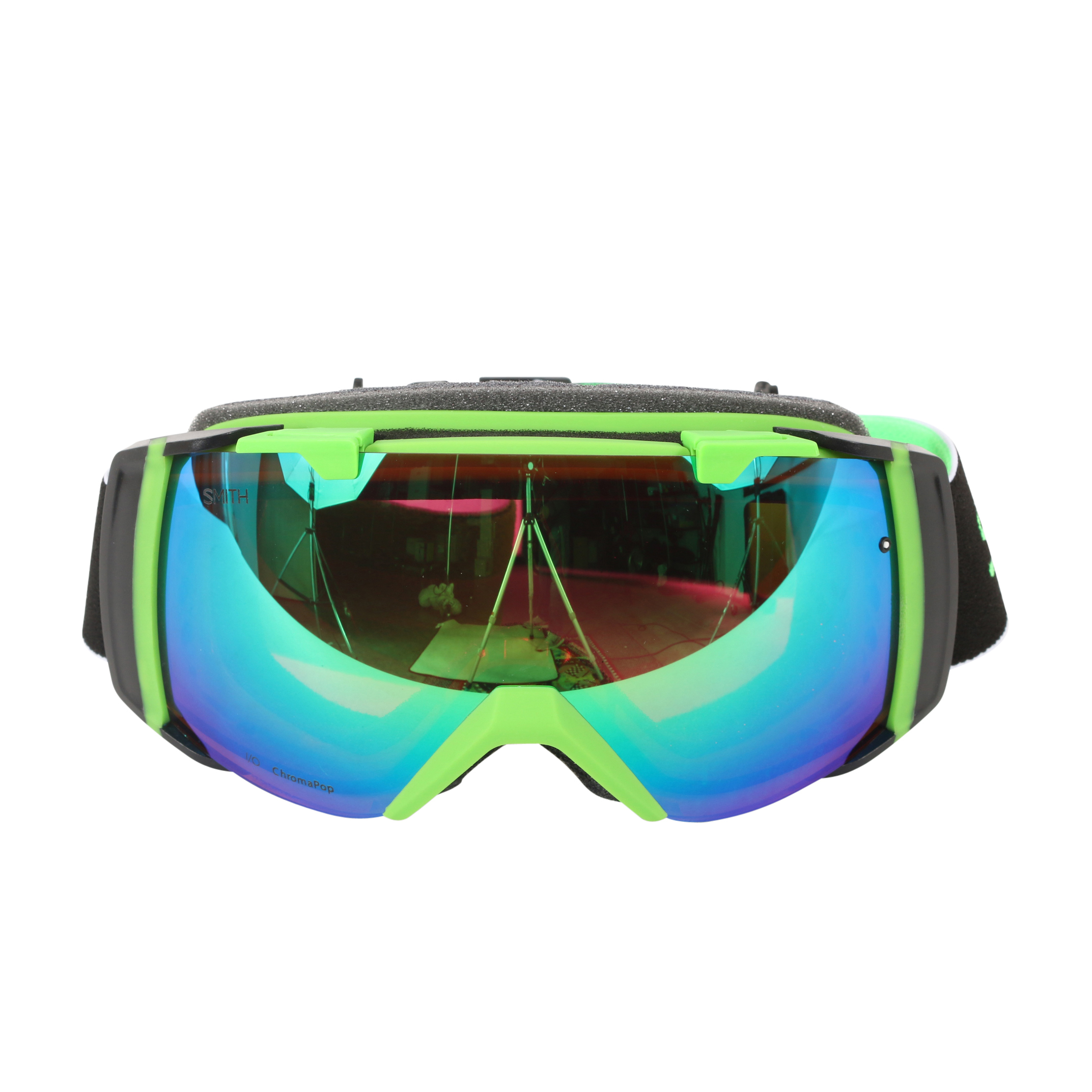 Smith Optics Reactor Split ChromaPop Everyday I O Interchangeable Snow Goggles by Smith Optics