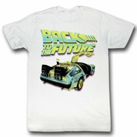 Back to The Future Movie BTF Neon Adult T-Shirt Tee 3X