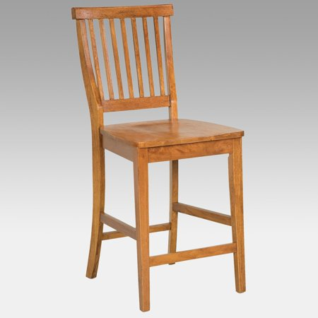 Home Styles Wood Counter Stool 24